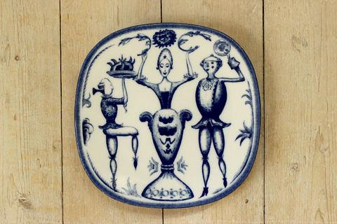 Rorstrand(ロールストランド)250周年記念プレートSjuttonhundratalet(18世紀)