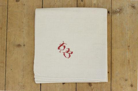 スウェーデンで見つけたリネン素材の厚手の布巾(64.5×68cm)2