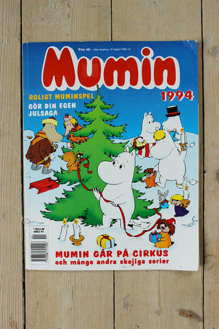MUMIN(ムーミン)スウェーデン語マガジン(カラー)1994年クリスマス号