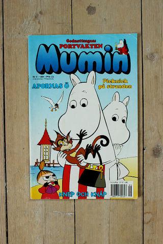 MUMIN(ムーミン)スウェーデン語マガジン(カラー)1999年9号