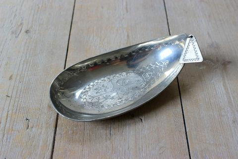 北スウェーデンの民族サーミ(Same)の錫製のミニプレート