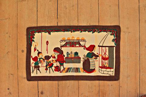 クリスマスタペストリー/クリスマスのダイニング