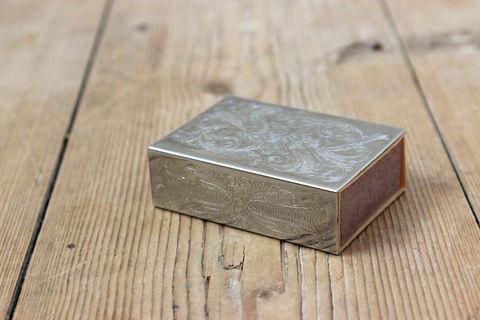 スウェーデンで見つけたヴィンテージマッチケース/マッチ箱