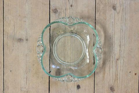 ビンテージガラスのプレート