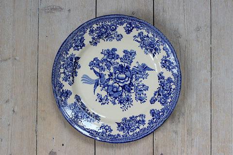 OLD GUSTAVSBERG(オールドグスタフスベリ)/FASAN(ファサン)プレート23.5cm(ブルー)