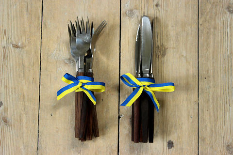フォークとナイフの12本セット