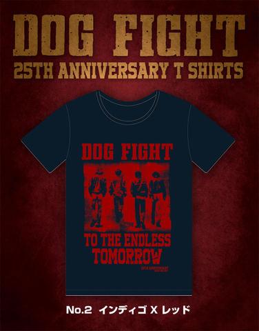 【完売】25th AnniversaryTシャツ(インディゴ×レッド)