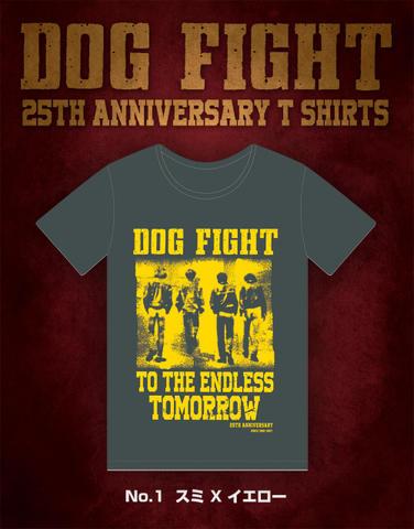 【完売】25th AnniversaryTシャツ(スミ×イエロー)