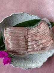 鹿児島黒豚バラスライス500g