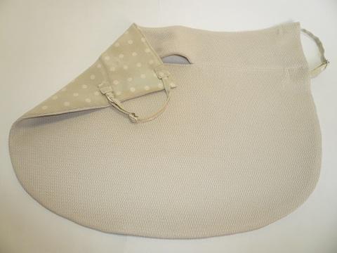 保湿&UVカットフェイスマスク ドレスマスク スリム シルク ベージュ