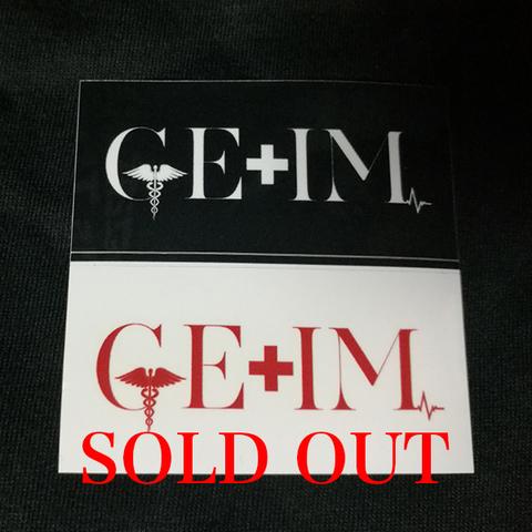 GE+IM ステッカー