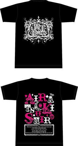 月城アイラサインTシャツ黒vol.2