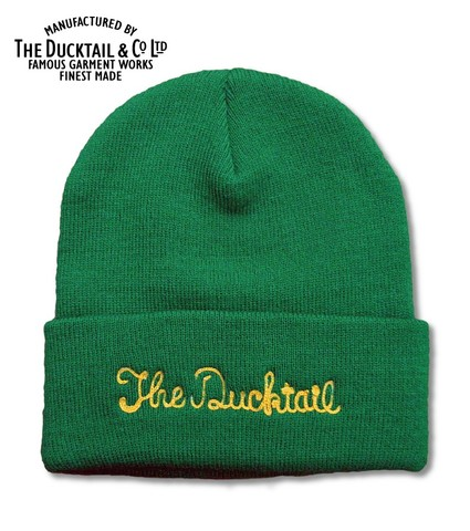 "DUCKTAIL CLOTHING ""NO NAME"" GREEN"