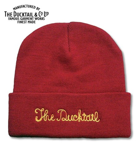"DUCKTAIL CLOTHING ""NO NAME"" RED"