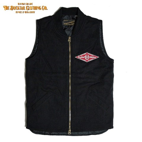"DUCKTAIL CLOTHING ""HORSESHOE"" DUCK VEST"