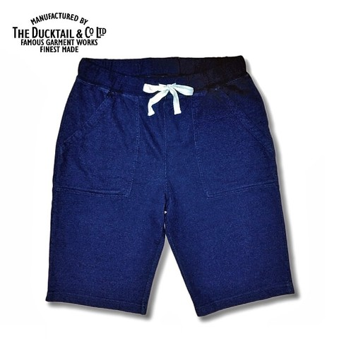 "DUCKTAIL CLOTHING ""SANDY"" SHORTS INDIGO"