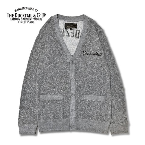 "DUCKTAIL CLOTHING ""RENDEZVOUS"" HEATHER GRAY"