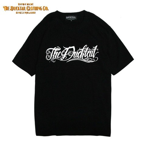 "全サイズ再入荷!!DUCKTAIL CLOTHING ""Rie la fortuna viene"" BLACK"