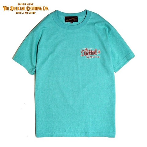 "DUCKTAIL CLOTHING ""ATOMIC"" PEPPERMINT GREEN"