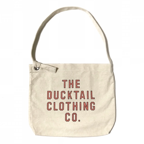 "DUCKTAIL CLOTHING ""NEWSPAPER BAG"" NATURAL"
