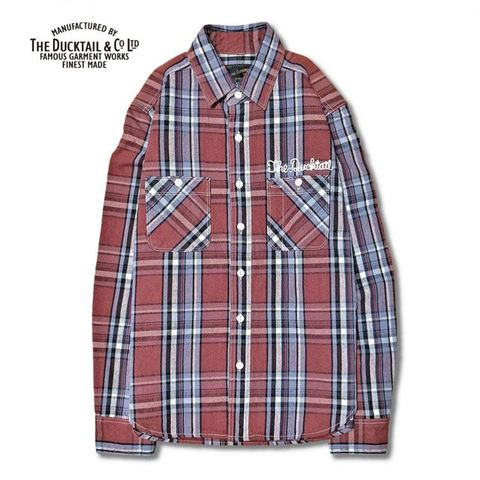 "DUCKTAIL CLOTHING ""RUSTIC"" RED"