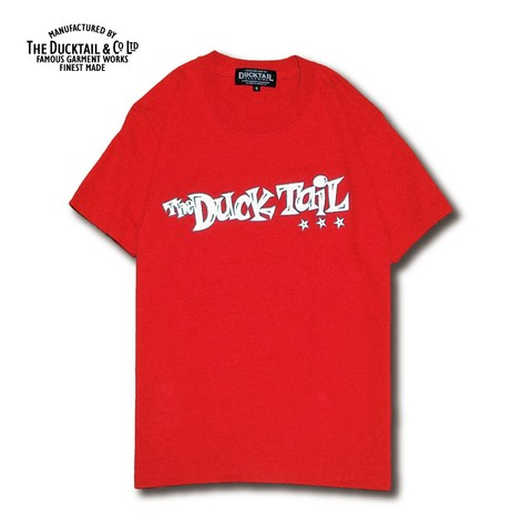 "新価格!!4860円→4320円!!DUCKTAIL CLOTHING ""PRISONER OF SOCIETY"" RED"