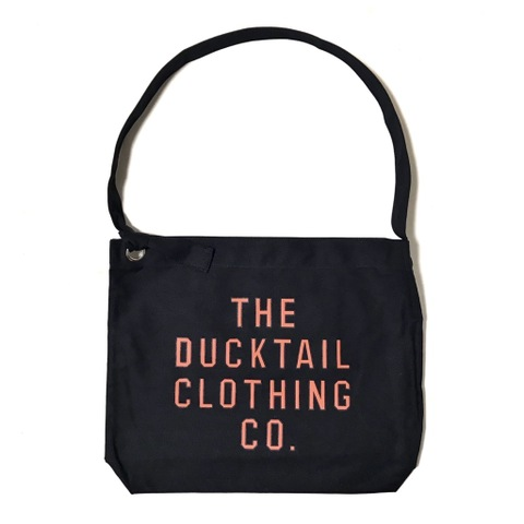 "DUCKTAIL CLOTHING ""NEWSPAPER BAG"" BLACK"