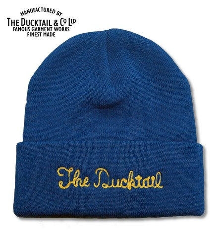 "DUCKTAIL CLOTHING ""NO NAME"" BLUE"
