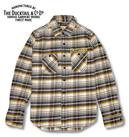 "DUCKTAIL CLOTHING ""HIDEAWAY"" BROWN×YELLOW"