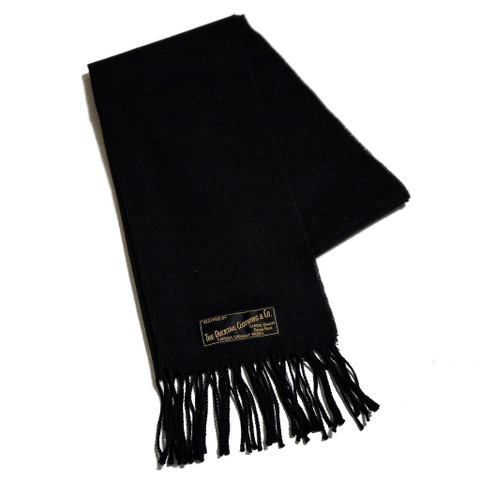 "再入荷!!DUCKTAIL CLOTHING ""MISSING"" MUFFLER BLACK"