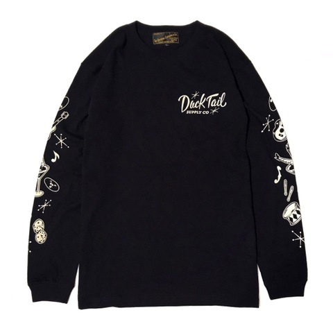 "新作入荷!!DUCKTAIL CLOTHING ""RAZZLE DAZZLE"" BLACK"