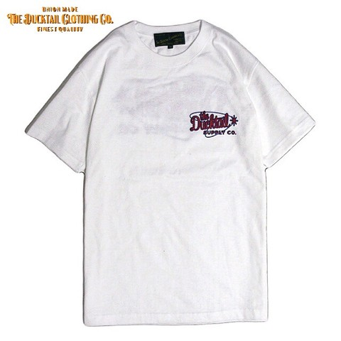 "DUCKTAIL CLOTHING ""ATOMIC"" WHITE"