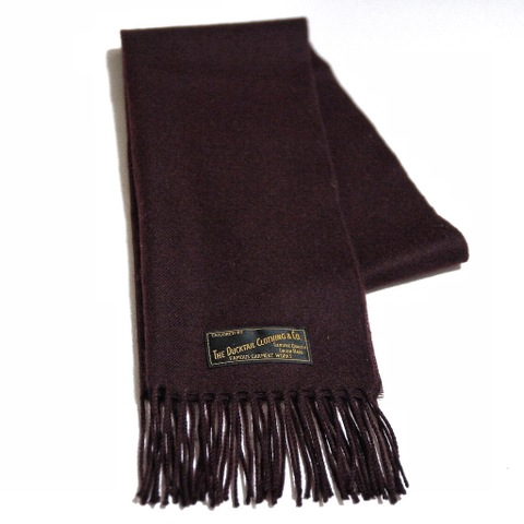 "再入荷!!DUCKTAIL CLOTHING ""MISSING"" MUFFLER BURGUNDY"