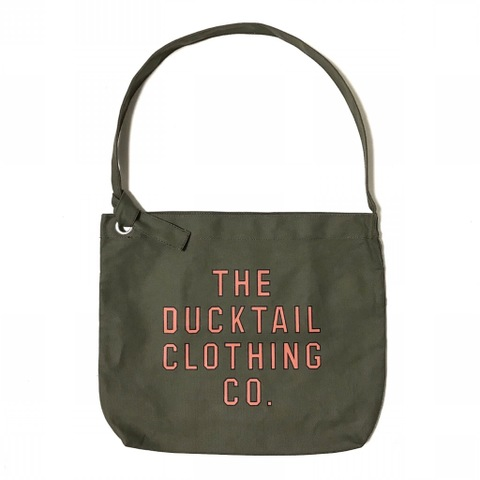 "DUCKTAIL CLOTHING ""NEWSPAPER BAG"" OLIVE"