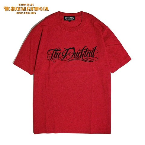 "全サイズ再入荷!!DUCKTAIL CLOTHING ""Rie la fortuna viene"" RED"