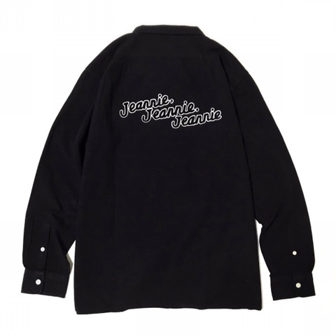 "新作入荷!!DUCKTAIL CLOTHING LONG SLEEVE SHIRTS ""JEANNIE,JEANNIE,JEANNIE"" BLACK"
