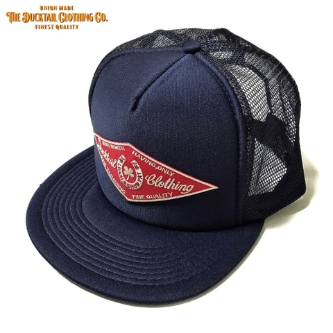 "新色入荷!!DUCKTAIL CLOTHING ""HORSESHOE"" TRUCKER CAP NAVY"