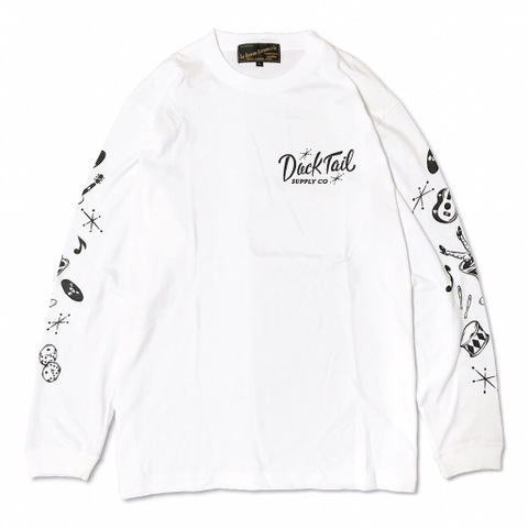 "新作入荷!!DUCKTAIL CLOTHING ""RAZZLE DAZZLE"" WHITE"