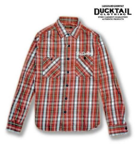 "DUCKTAIL CLOTHING ""BREAD"" RED"