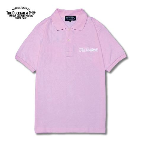 "DUCKTAIL CLOTHING ""PARADISE POLO"" LIGHT PINK"