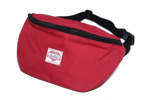 "新作入荷!!DUCKTAIL CLOTHING ""HEART"" BODY BAG RED"