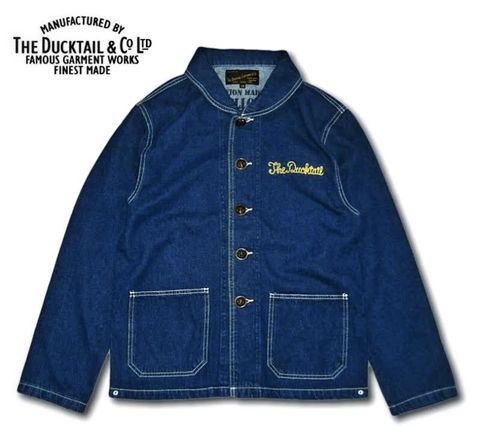 "DUCKTAIL CLOTHING"" MELLOW COVERALL"" INDIGO"