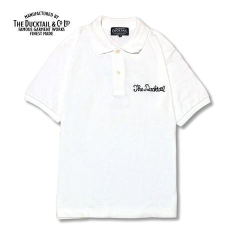 """DUCKTAIL CLOTHING """"PARADISE POLO"""" WHITE"""