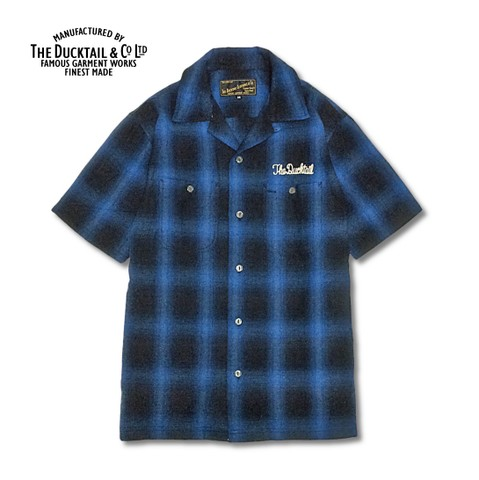 "DUCKTAIL CLOTHING ""RISE AGAIN"" BLUE"
