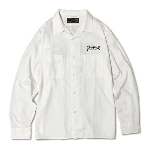 "新作入荷!!DUCKTAIL CLOTHING LONG SLEEVE SHIRTS ""JEANNIE,JEANNIE,JEANNIE"" WHITE"