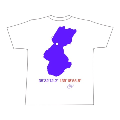 ECD MAP T-SHIRT XLサイズ