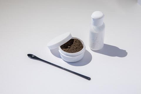 実験キット(泥&消石灰)