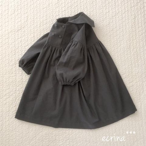*オーダー子ども服:セーラーワンピース
