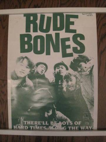 Rude Bones 非売品 ポスター