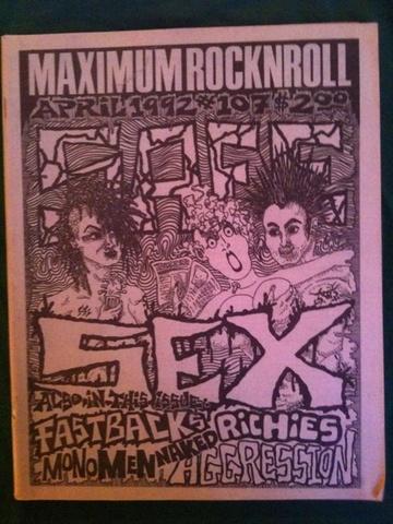 Maximum Rocknroll #107